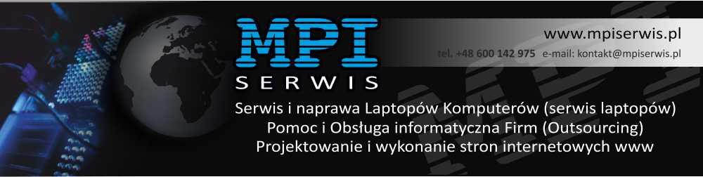 MPI serwis naprawa laptopów